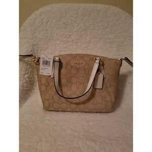 Coach mini Kelsey satchel